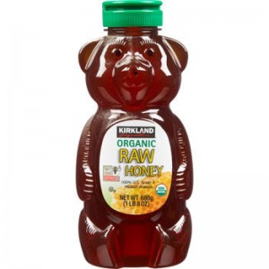 Mật ong Organic Raw honey (Kirland) 680gr