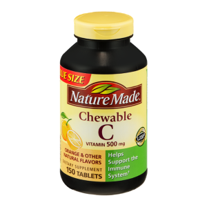 Viên ngậm Vitamin C Nature Made 500mg 150 tablets