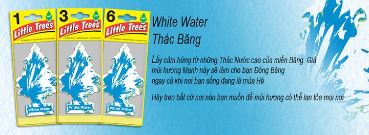 wite water thac bang