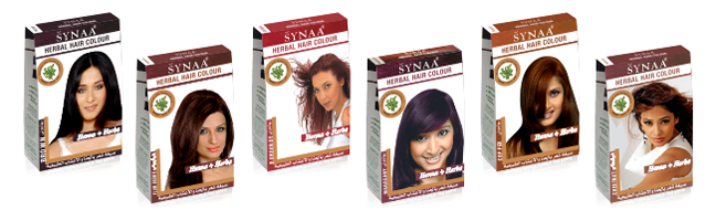 herbal hair colour boxes