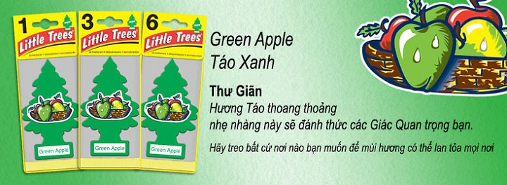 green apple tao xanh