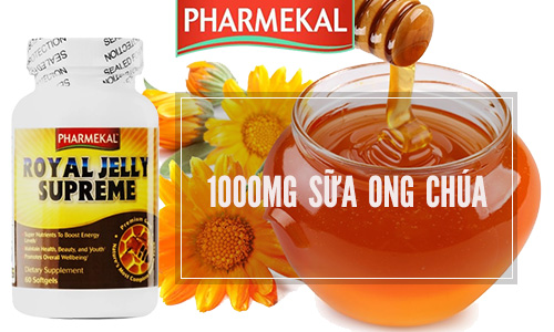 thanh phan pharmekal royal jelly supreme 60 vien 1